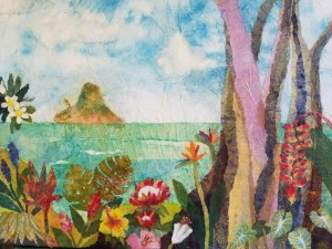 Hiroko Shoultz 'A beautiful day - Chinaman's Hat' Print