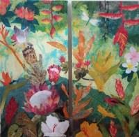 Hiroko Shoultz 'Tropical jungle' Print
