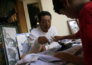 Naoki Hayashi Gyotaku