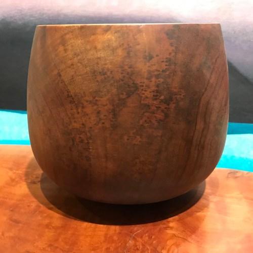 "Koa 'Umeke by Gordon Tang 5.75""H x 6.25""D $625"