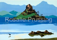 Mokolii Kualoa Rosalie Prussing Giclée Print, custom sizes