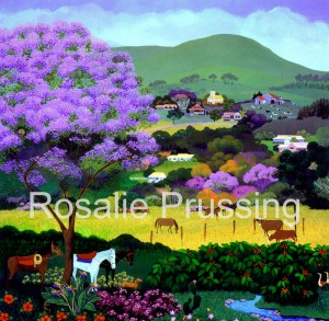 Upcountry Rosalie Prussing Giclée Print, custom sizes