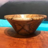 """'Oahu Koa Bowl' by John Berthiaume 2.75""""H x 6.75""""D $400"""