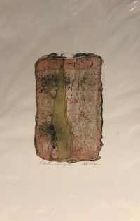 """'Faster, Even Faster' Original Monoprint by Anne Irons 18""""x 12"""" $80"""