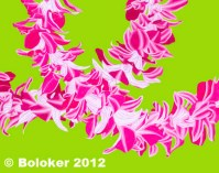 Double Orchid, Lei Print by Judd Boloker, various sizes
