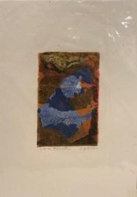 "'Love Floats' Original Monoprint by Anne Irons 13""x 9.5"" $60"