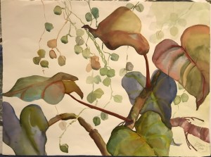 "'Murmuring' Original Watercolor by Anne Irons 22""x 30"" $980"