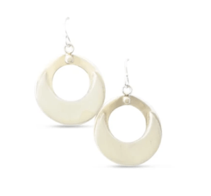 Hina-a-ka-malama Earrings by Sonny Ching $122