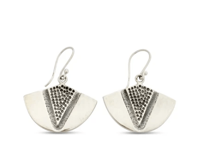 """Kīhei O Kamapua'a Earrings by Sonny Ching and Paradisus, Sterling Silver .75""""W x .75""""H $80"""
