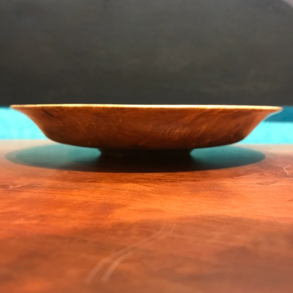 """Mango Bowl by Andy Cole 1""""H x 6""""D $150"""