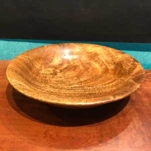 "Mango Bowl by Andy Cole 1""H x 6""D $140"