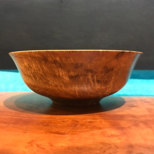 """Mango Bowl by Andy Cole 2""""H x 5""""D $160"""