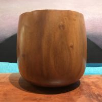 "Milo 'Umeke by Eric LeBuse 7.5""H x 7""D $495"