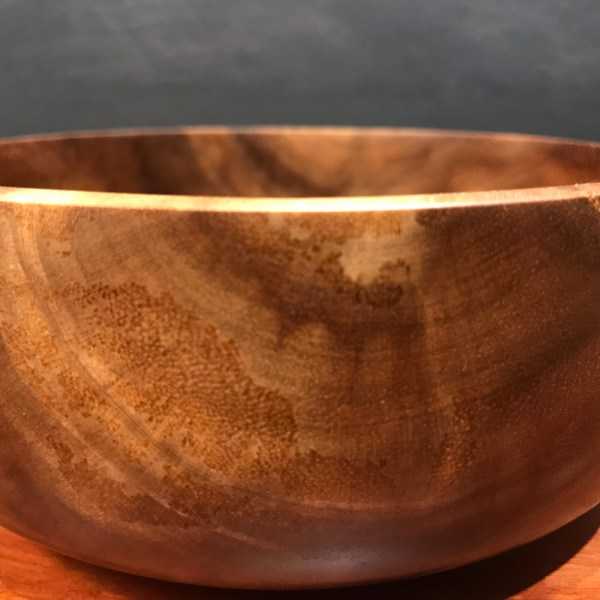 "Kou Bowl by Tom Young 2.25""H x 5.5""D $140"
