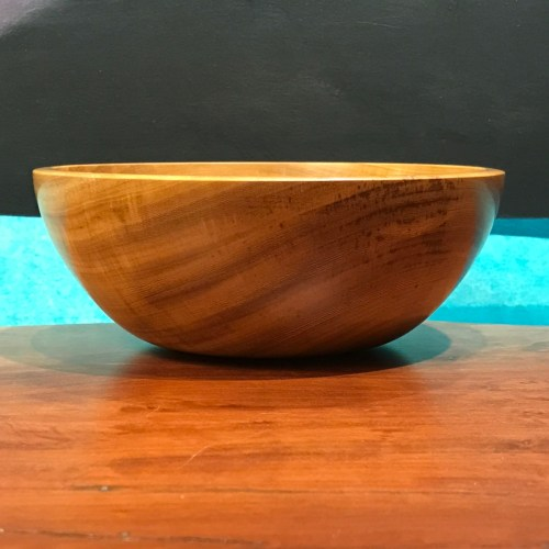 "Primavera Bowl by Tom Young 2""H x 6""D $140"