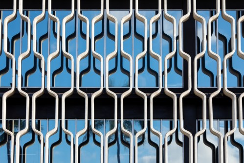 'IBM Building Window #1' photograph by Hawkins Biggins printed on Hahnemühle paper, two sizes