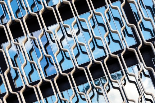 'IBM Building Window #2' photograph by Hawkins Biggins printed on Hahnemühle paper, two sizes