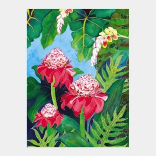 'Haiku Rainforest' watercolor by Jocelyn Cheng, Giclée Print, several sizes