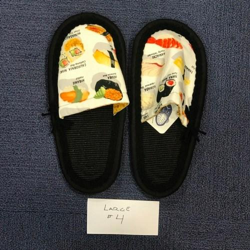 Ione Kanetake Handmade Slippers from Hilo Hawaii; Outside length 11 ; toe-to-heel 9 #4 $69
