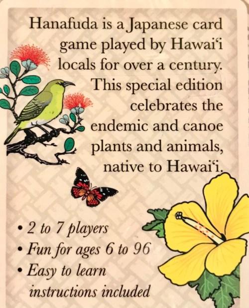 Hanafuda Na Pua Hawaii Card Set 3.5H x 2.25W x .75D by Hanafuda Hawaii $16.95