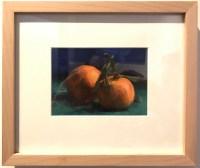 """'Little Cuties' Original Oil Painting on Linen by Lauren Salm 9.5""""H x 11.25""""W Framed $295"""
