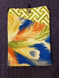 """Repurposed Kimono Pouch 7""""x 5"""" (G) $39.50"""