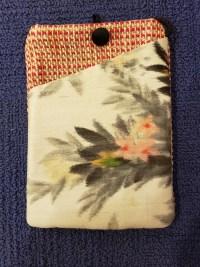 """Repurposed Kimono Pouch 7""""x 5""""(H) $39.50"""