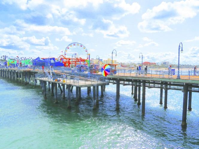 summer bucket list - santa monica pier