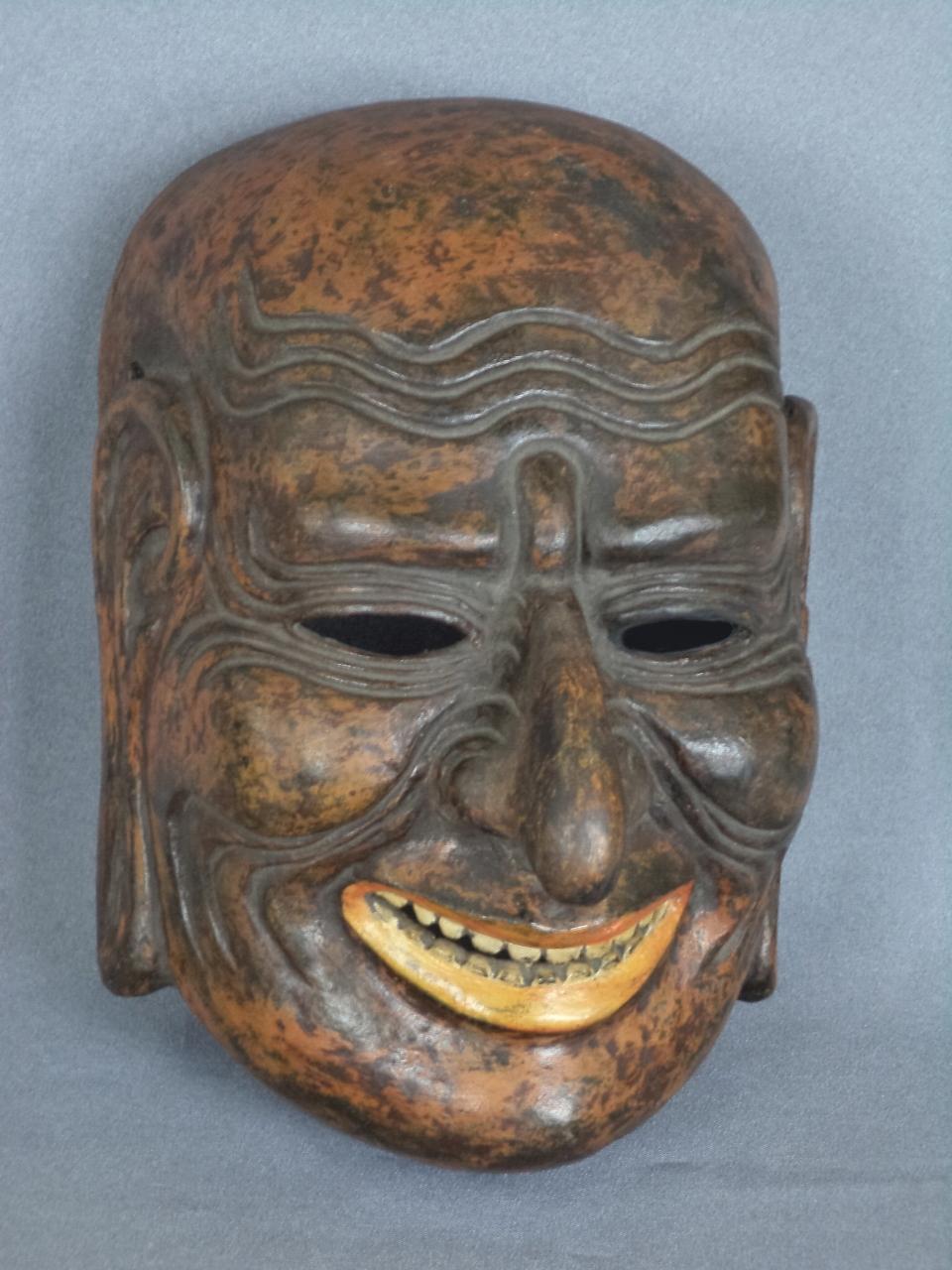 The Custom Order Gigaku Mask Repair