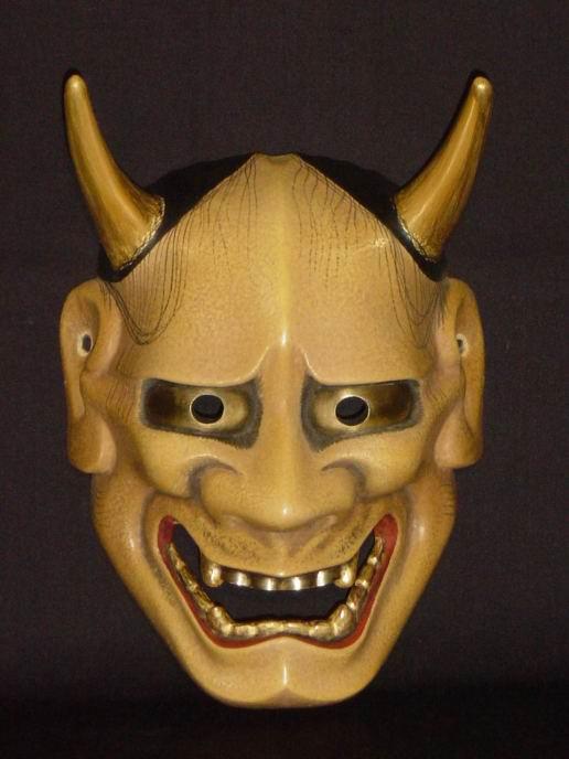 a dictionary of masks: Hannya (Japan / Kyogen)