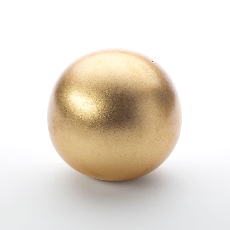 Gold Leaf Sphere No 2