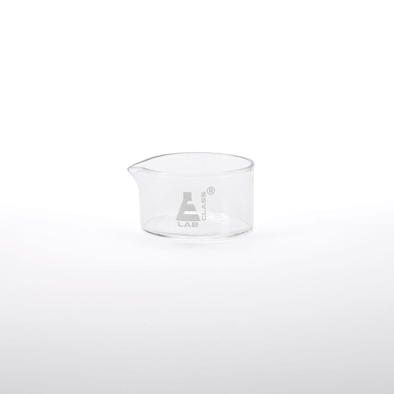 Laboratory Glass Shallow Small Beaker