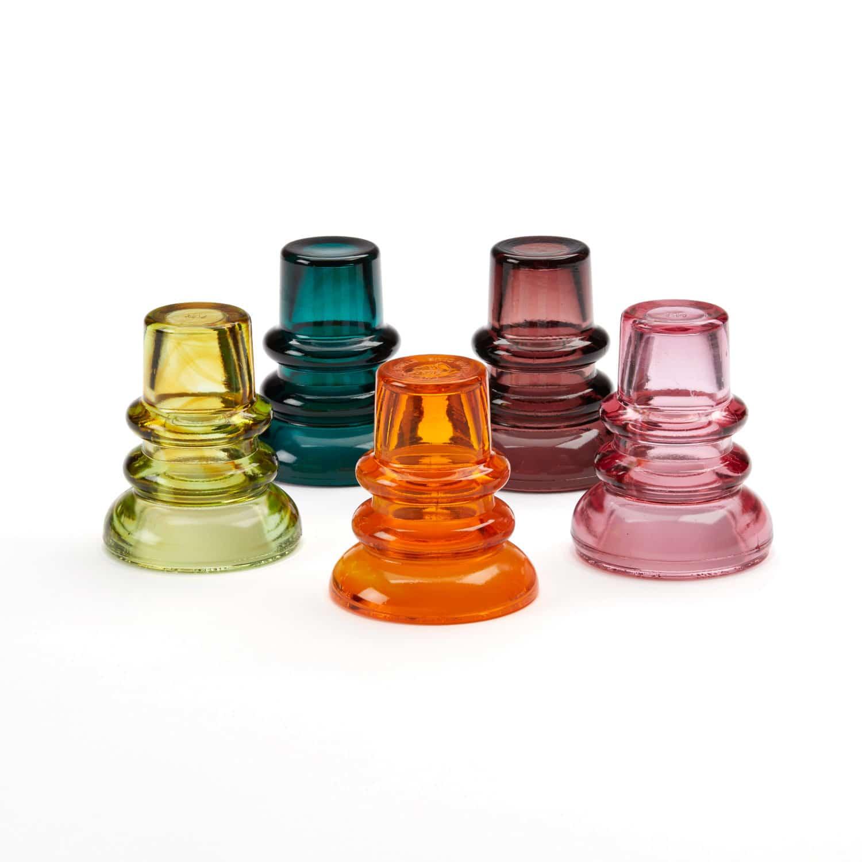 Commemorative Vintage Glass Insulators