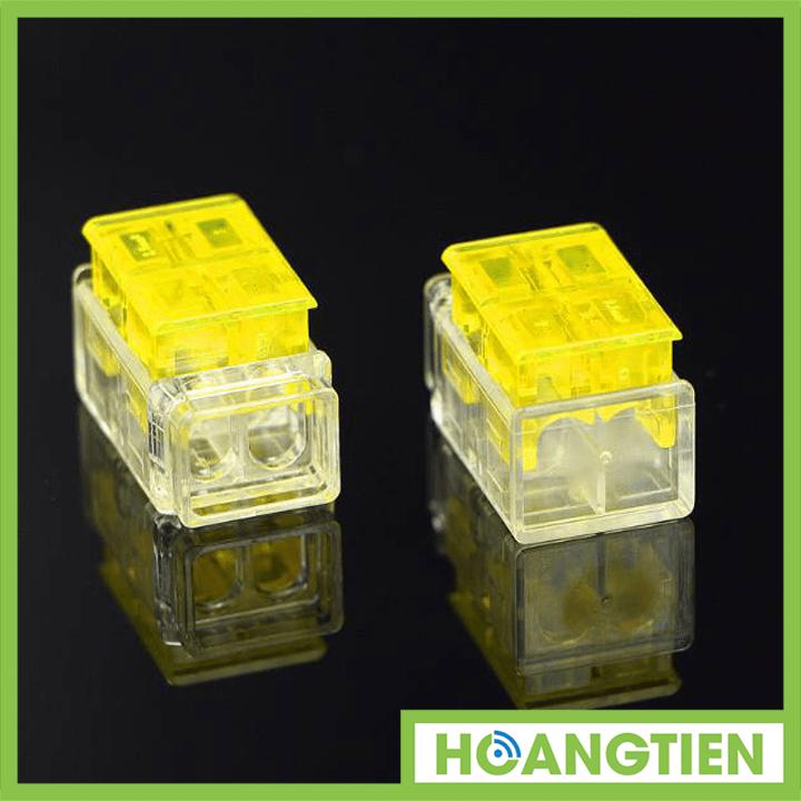 Cút nối dây điện nhanh HT-CN2 (2 dây cùng chiều)