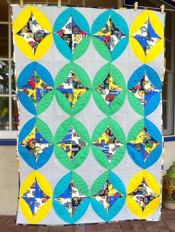 ModOlives baby quilt