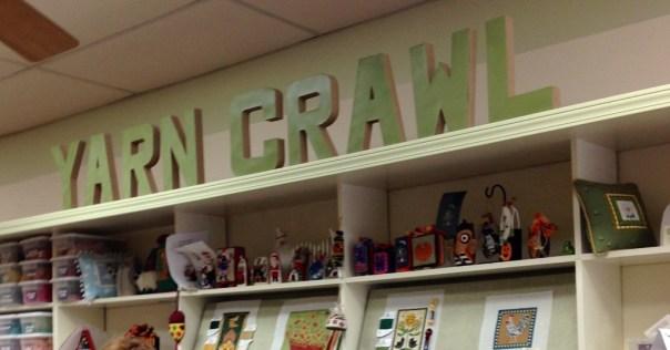 yarn crawl sign