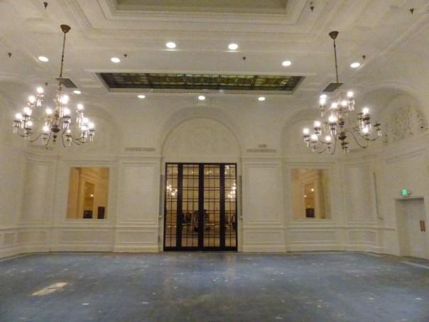 Palm court, interior