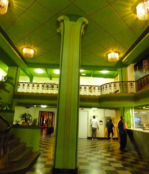 Interior of Hayward Hotel Lobby