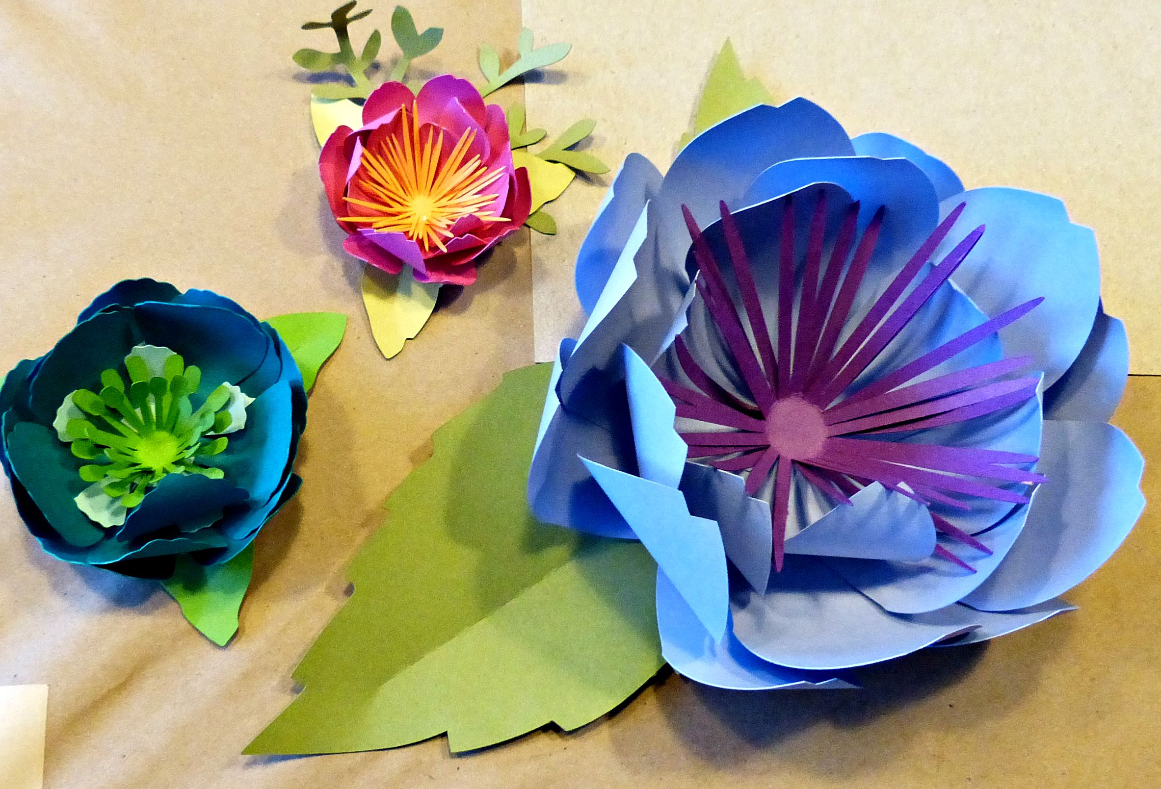 Paper Crafts No Idle Hands Here