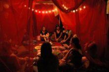 vörös sátor