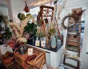 Aquarelle planète plante mlam noiram marion-lorraine poncet petite fleureuse atelier 21
