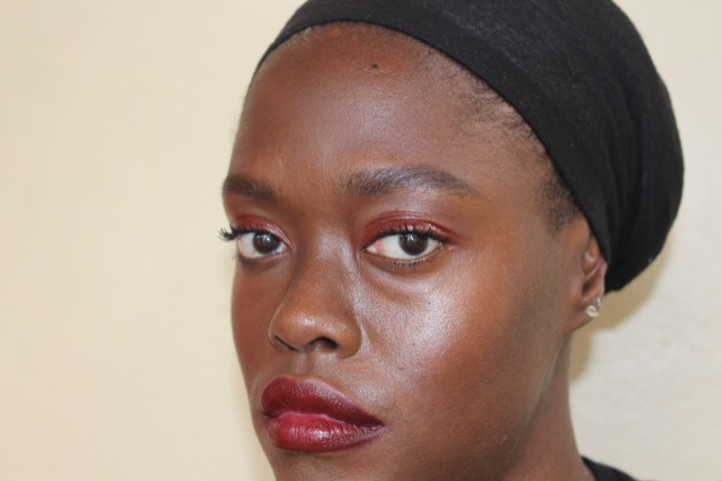 NTB-glossy-eyes-monochromatic-look-dark-skin-4