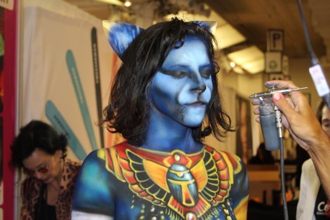 the makeup show nyc cosmix egyptian cat 1