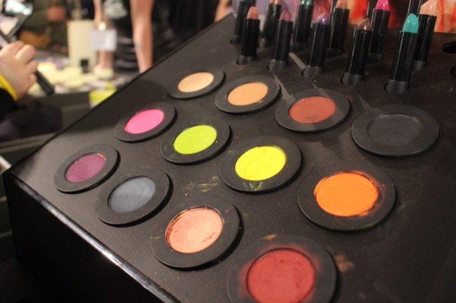 the makeup show nyc melt cosmetics eye shadows