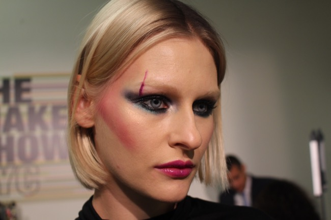 the makeup show nyc bold eyes and lips