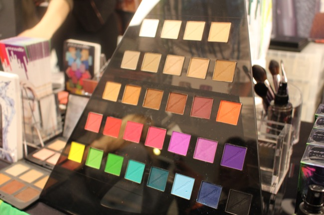 the makeup show nyc cozzette eye shadows