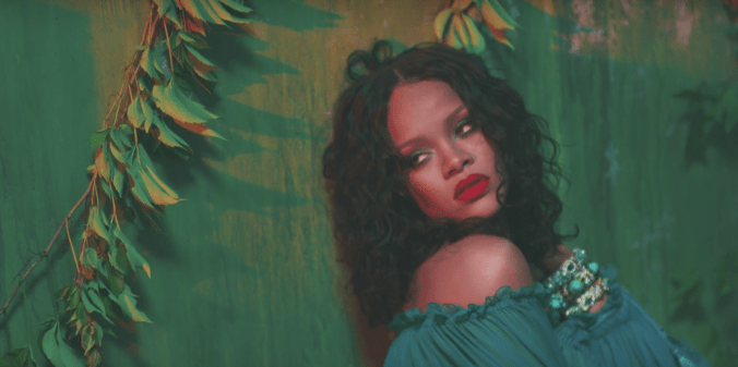 Rihanna Makeup Wild Thoughts