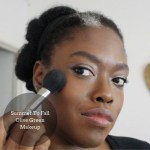 How to transition your summer makeup look to fall: Olive green makeup