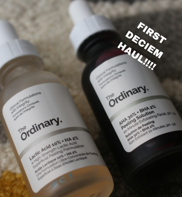 deciem haul the ordinary hylamide