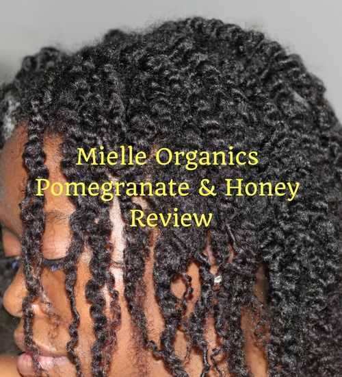 mielle organics pomegranate & honey review
